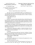 Kế hoạch số: 345/PGD&ĐT-GDTH