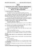 Bài giảng y học quân sự: Bài 9 - Đại Tá Bác sỹ Bùi Xuân Quang