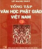 Ebook Tổng tập Văn học Phật giáo Việt Nam (Tập 3): Phần 1