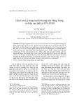 Chợ Cam Lộ trong tuyến thương mại Đàng Trong và Khu vực thế kỷ XVI-XVIII