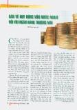 Bàn về vốn huy động nước ngoài đối với Ngân hàng thương mại