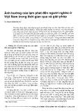 Ảnh hưởng của lạm phát đến người nghèo ở Việt Nam trong thời gian qua và giải pháp