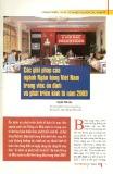 Các giải pháp của Ngân hàng Việt Nam trong việc ổn định phát triển kinh tế năm 2009