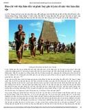 Báo chí với việc bảo tồn và phát huy giá trị các di sản văn hóa dân tộc