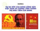 Bài giảng Đường lối cách mạng của Đảng Cộng sản Việt Nam: Chương 1 - Nguyễn Đình Quốc Cường