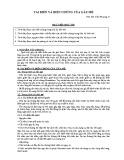 Bài giảng Tai biến và biến chứng của gây mê - ThS. BS. Trần Phương Vi
