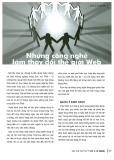 Những công nghệ làm thay đổi thế giới Web
