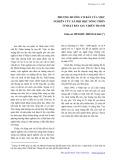 Phương hướng cơ bản của việc nghiên cứu xã hội học nông thôn ở Nhật Bản sau chiến tranh