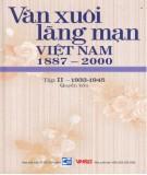 Ebook Văn xuôi lãng mạn Việt Nam 1887-2000 (Tập II - 1933-1945: Quyển 4): Phần 1
