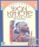 Ebook Đôn Kihôtê - Nhà quý tộc tài ba xứ Mantra (Tập 2): Phần 2
