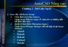 Bài giảng AutoCAD nâng cao - Chương 3: Làm việc với dữ liệu