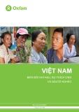 Việt Nam: Biến đổi khí hậu, sự thích ứng và người nghèo