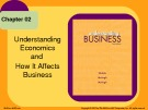 Lecture Understanding business (10/e): Chapter 2 - William G. Nickels, James M. McHugh, Susan M. McHugh