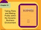 Lecture Understanding business (10/e): Chapter 1 - William G. Nickels, James M. McHugh, Susan M. McHugh