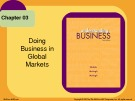 Lecture Understanding business (10/e): Chapter 3 - William G. Nickels, James M. McHugh, Susan M. McHugh