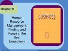 Lecture Understanding business (10/e): Chapter 11 - William G. Nickels, James M. McHugh, Susan M. McHugh