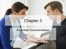 Lecture Nursing documentation using electronic health records: Chapter 3 - Byron R. Hamilton, Mary Harper, Paul Moore