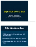 Bài giảng Điện tâm đồ cơ bản - BS. Đinh Huỳnh Linh