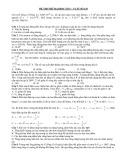 Đề thi thử Đại học số 5 môn Vật lý - VLTT số 129