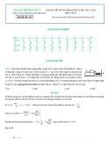Giải chi tiết đề thi rèn luyện tư duy vip 2, 2015 môn Vật lý (Mã đề thi 197)