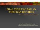 Bài giảng Phân tích các dấu ấn viêm gan do Virus - THS. BS Trần Thị Khánh Tường