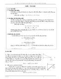 Tài liệu ôn thi học sinh giỏi lớp 10 môn Vật lý phần: Tĩnh học