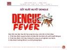 Bài giảng Sốt xuất huyết dengue - ThS. BS Nguyễn Phúc Học