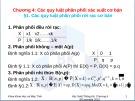 Bài giảng Chương 4: Các quy luật phân phối xác suất cơ bản