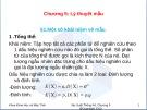 Bài giảng Chương 5: Lý thuyết mẫu