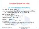 Bài giảng Chương 6: Lý thuyết ước lượng