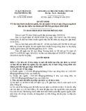Quyết định số: 12/2016/QĐ-UBND
