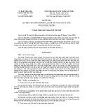 Quyết định số: 24/2015/QĐ-UBND Thành phố Cần Thơ