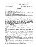 Nghị định số: 47/2016/NĐ-CP