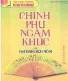 Ebook Chinh phụ ngâm khúc và hai bản dịch Nôm: Phần 1