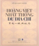Khám phá Hoàng Việt nhất thống dư địa chí: Phần 2
