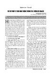 Cơ sở pháp lý cho hoạt động thông tin, thống kê KH&CN