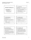 Bài giảng Quản trị rủi ro: Chương 3 - Hồ Văn Dũng