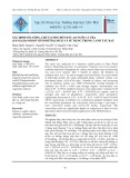 Xác định số lượng, chất lượng bùn đáy ao nuôi cá tra (Pangasianodon Hypophthalmus) và sử dụng trong canh tác rau