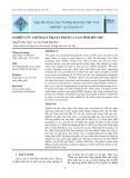 Nghiên cứu chuỗi giá trị sản phẩm ca cao tỉnh Bến Tre