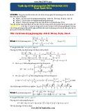 Tuyển tập 42 hệ phương trình ôn thi Đại học 2015