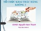 Bài thuyết trình: Hotel revenue management (Quản trị khách sạn)