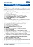 Tiêu chuẩn nghề Du lịch Việt Nam - Đơn vị năng lực TGS2.3: Đồng hành và hướng dẫn du khách theo chương trình du lịch