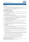 Tiêu chuẩn nghề Du lịch Việt Nam - Đơn vị năng lực HRS9: Đảm bảo chất lượng công việc trong nhóm