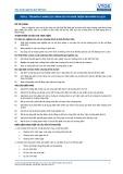 Tiêu chuẩn nghề Du lịch Việt Nam - Đơn vị năng lực TGS4.1: Đánh giá và hoàn thiện sản phẩm du lịch