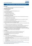 Tiêu chuẩn nghề Du lịch Việt Nam - Đơn vị năng lực TOS2.5: Thực hiện chương trình du lịch