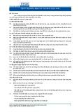 Tiêu chuẩn nghề Du lịch Việt Nam - Đơn vị năng lực FBS3.2: Tư vấn về rượu vang