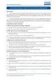 Tiêu chuẩn nghề Du lịch Việt Nam - Đơn vị năng lực SCS2: Quản lý các sự cố và tình huống khẩn cấp