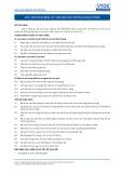 Tiêu chuẩn nghề Du lịch Việt Nam - Đơn vị năng lực SCS3: Vận hành các thiết bị an ninh cơ bản