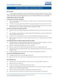 Tiêu chuẩn nghề Du lịch Việt Nam - Đơn vị năng lực HRS2: Lập kế hoạch nhân sự