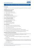 Tiêu chuẩn nghề Du lịch Việt Nam - Đơn vị năng lực COS4: Sử dụng tiếng Anh ở cấp độ giao tiếp cơ bản